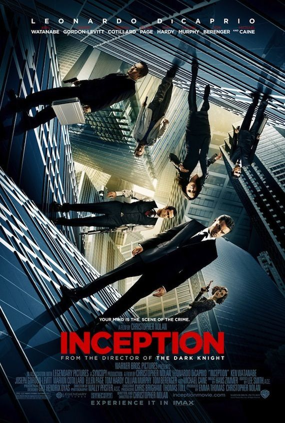 Inception Poster Amazing New Inception Trailer & Poster [Updated]