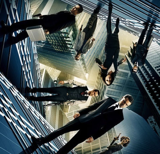 Inception Poster1 Amazing New Inception Trailer & Poster [Updated]