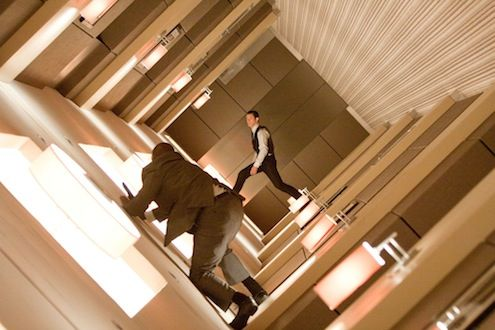Inception hallway Joseph Gordon Levitt The Top 10 Movie Moments of 2010