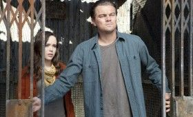 Inception image Leonardo DiCaprio and Ellen Page 280x170 Four New Inception Images