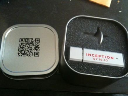 Inception viral tin box Inception Viral Campaign Posters Get Real