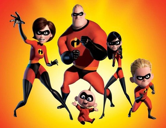 Incredibles 570x442 SR Geek Picks: Toy Story as The Shining, Best and Worst Superheroes, Hipster DC Girls & More