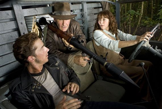 Indiana Jones 4 Indiana Jones 5 Getting Lost in the Bermuda Triangle? [Updated]