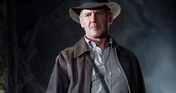 Indiana Jones 5 Up to George Lucas Indy 5 in Development to Secure Harrison Ford for Star Wars: Episode 7?