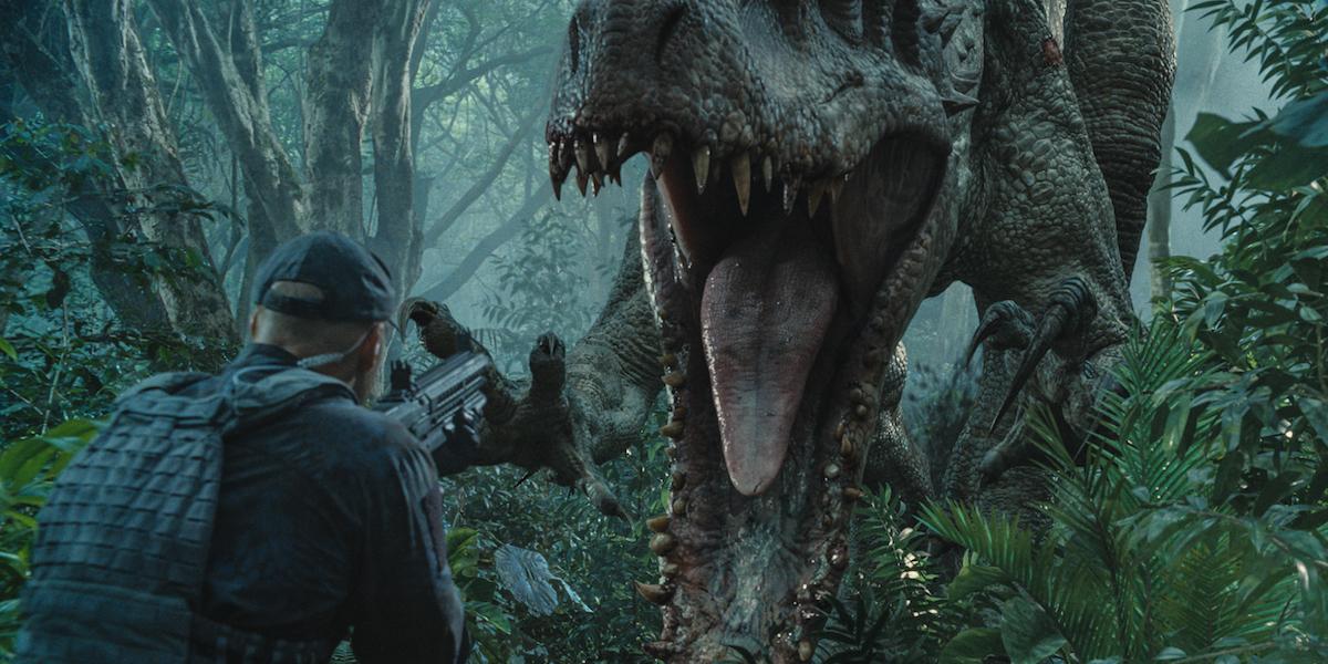 Indominus Rex Jurassic World Movie Jaws