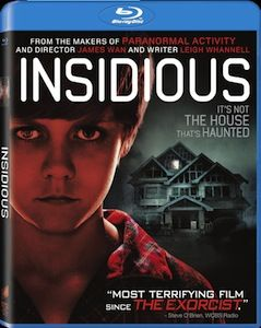 Insidious DVD blu ray DVD/Blu ray Breakdown: July 12, 2011