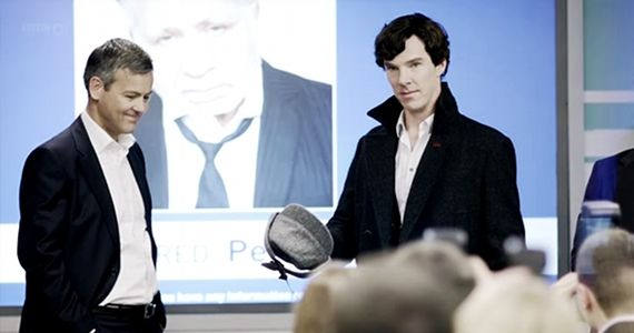 Inspector Greg Lestrade in BBCs Sherlock Elementary Cast Comments on BBC Sherlock Comparison