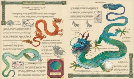 Interior Page from Dragonology Book Alex Kurtzman & Roberto Orci to Produce Dragonology Movie
