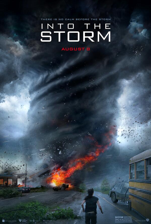 Into the Storm poster Into the Storm Trailer: Thorin Versus The Tornado