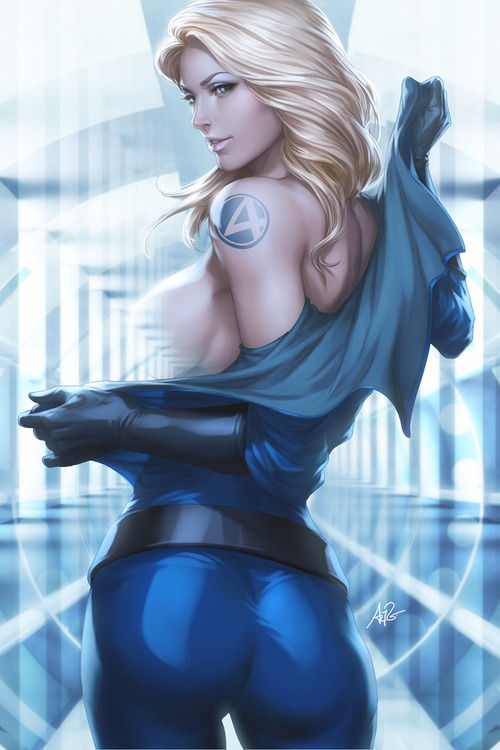 Invisible Woman by Artgerm Invisible Woman by `Artgerm