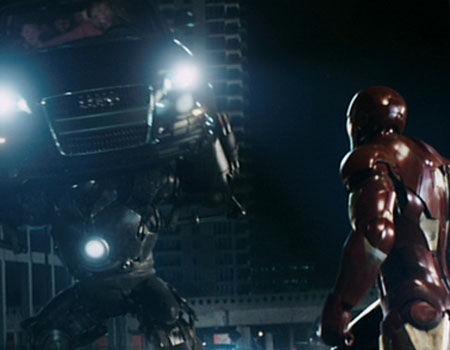 Iron Man 1 - Fight with Iron Monger
