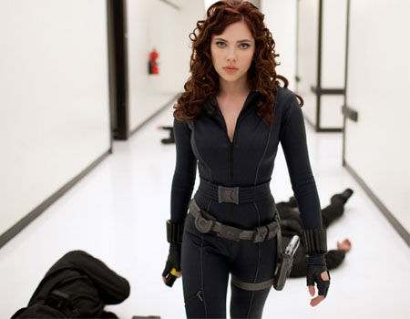 Iron Man 2 - Black Widow Hallway Fight