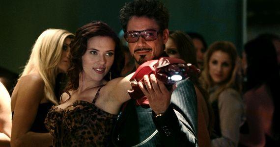 Iron Man 2 Stark and Widow