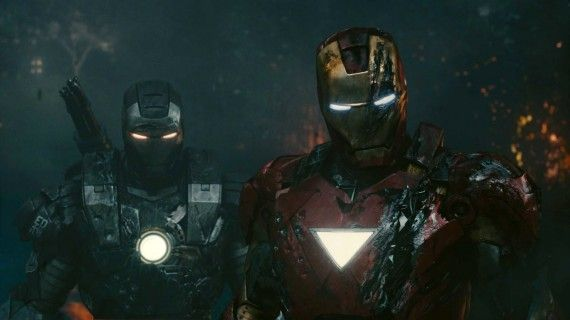 Iron Man 2 Still War Machine Mark V 570x320 Don Cheadle Talks Possible War Machine Movie Plot