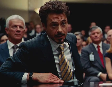 Iron Man 2 - Tony Talks to Congress