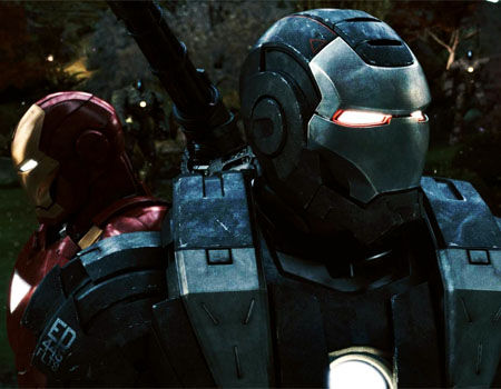 Iron Man 2 - War Machine & Iron Man Back-to-Back