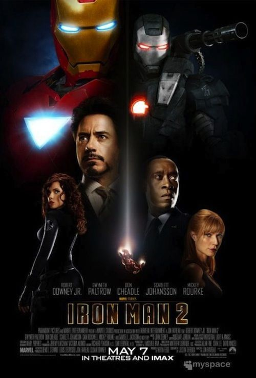Iron Man 2 poster2 New Iron Man 2 Poster is Missing Something