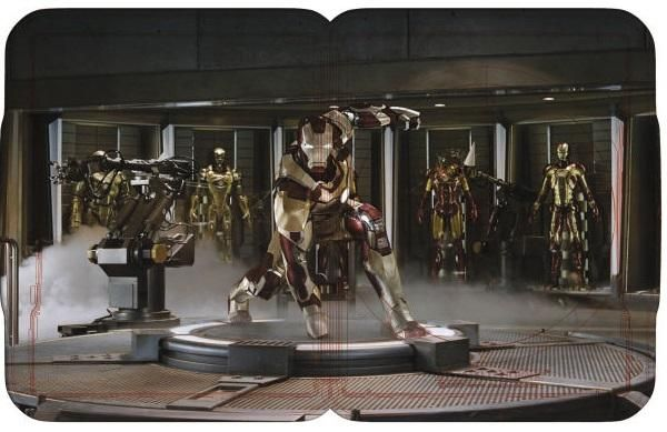 Iron Man 3 2D Blu ray Steelbook UK Interior Iron Man 3 2D Blu ray Steelbook UK Interior