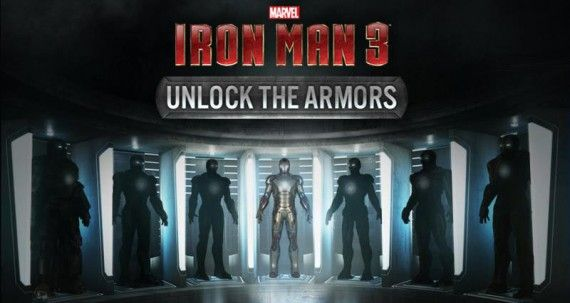 Iron Man 3 Armor Unlock Facebook App 570x303 Iron Man 3 Armor Unlock Facebook App