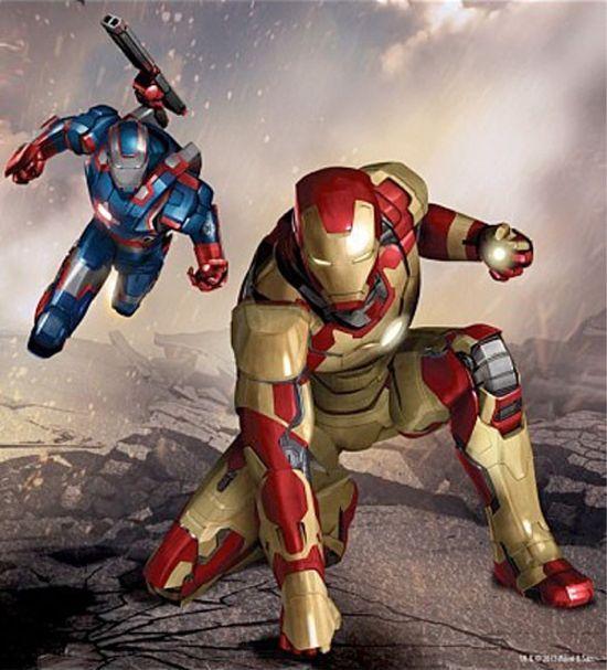 Iron Man Extremis Armor Iron Man 3 'iron Man 3′ Art Teases Iron