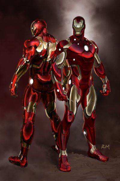 Iron Man 3 Bleeding Edge Armor