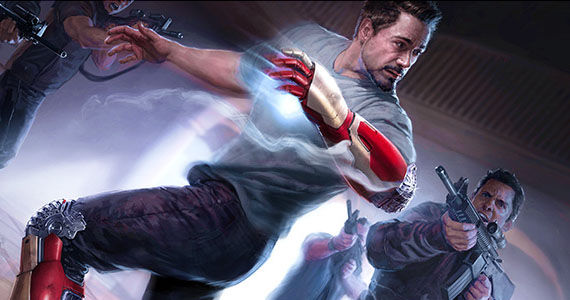 Iron Man 3 Concept Art Rumor Patrol: Iron Man 3 & Thor 2 Plot Spoilers, Character Deaths & More