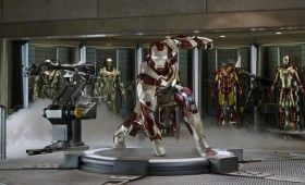 Iron Man 3 Extremis Armor Suiting Up Pose 280x170 Iron Man 3 Poster, New Photos & Additional Story Details [Updated]