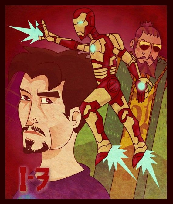 Iron Man 3 Fan Art 570x669 SR Geek Picks: 66 Behind the Scenes Photos from The Empire Strikes Back