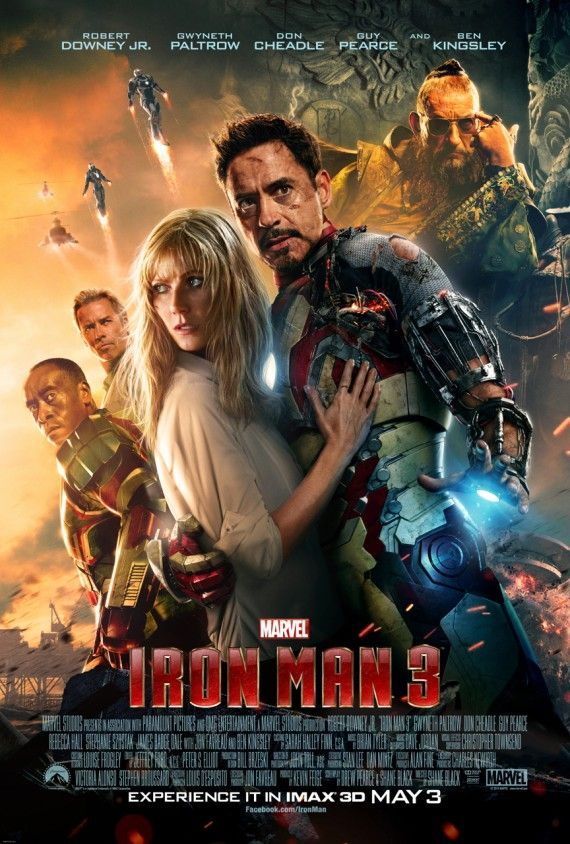 Iron Man 3 IMAX Poster 570x844 New Thor: The Dark World Poster Brings the Cast Together