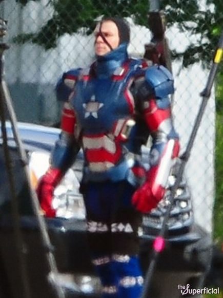 Iron Man 3 James Badge Dale in Iron Patriot Amor Iron Man 3 James Badge Dale in Iron Patriot Amor