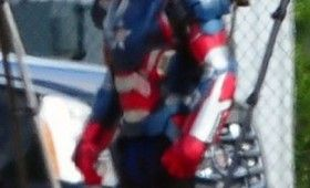 Iron Man 3 James Badge Dale in Iron Patriot Amor 2 280x170 Iron Man 3: Iron Patriot Armor Spotted on Set