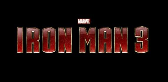Iron Man 3 Logo Official 570x278 Marvel Reveals Official Iron Man 3 Synopsis