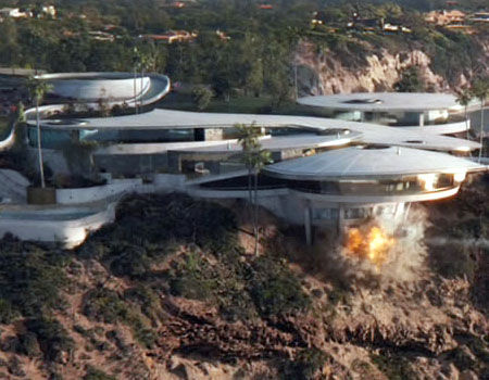 Iron Man 3 - Malibu House Destruction