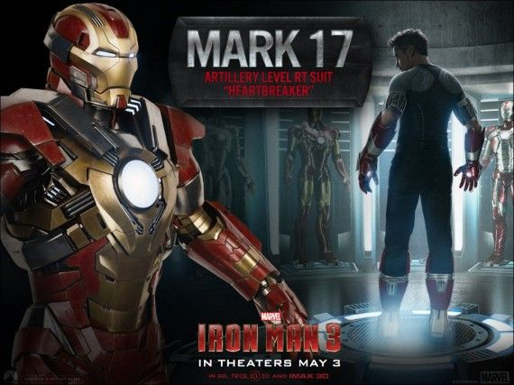 Iron Man 3 Mark 17 Heartbreaker 570x427 Iron Man 3 Mark 17 Heartbreaker