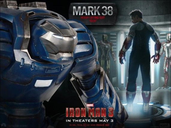 Iron Man 3 Mark 38 Igor 570x427 First Look At Quicksilver, Scarlet Witch & Hulkbuster Designs in The Avengers 2