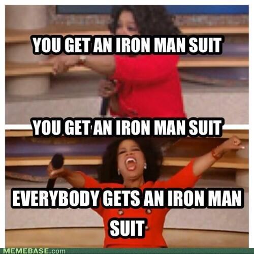 Iron Man 3 Oprah Meme