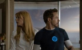 Iron Man 3 Pepper Potts Tony Stark 280x170 Iron Man 3 Poster, New Photos & Additional Story Details [Updated]