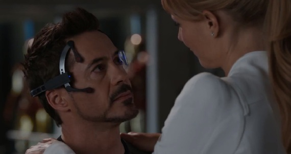 Iron Man 3 Pepper and Tony New Iron Man 3 Clip: Tony Stark Comes Clean With Pepper Potts