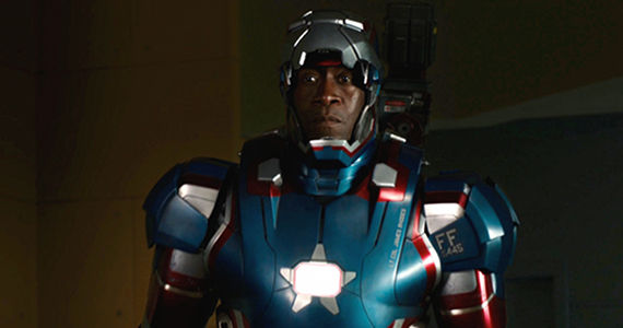 Iron Man 3 Preview War Machine Iron Patriot Colors Marvel Willing to Replace Robert Downey Jr; No Plans for War Machine or Falcon Solo Films