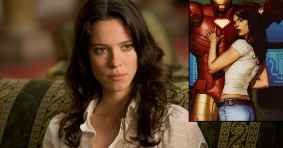 Iron Man 3 Rebecca Hall Talks Maya Hansen Iron Man 3: Shane Black Talks Importance of Rebecca Halls Maya Hansen