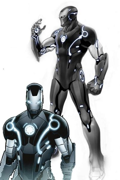 Iron Man 3 Stealth Armor