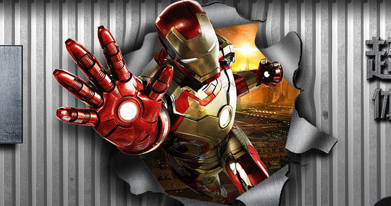 Iron Man 3 TCL Logo Iron Man 3 Spoilers, Toys & Details on China Co Production