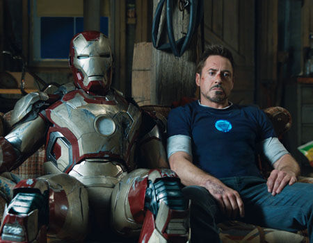 Iron Man 3 - Tony Stark & Mark 42 Armor