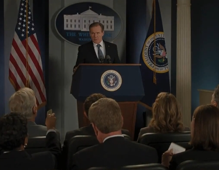 Iron Man 3 Trailer Presidential Address
