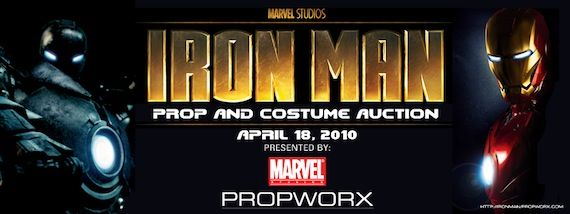 Iron Man Auction C2E2 Propworx Brings Iron Man Props & Costumes To You