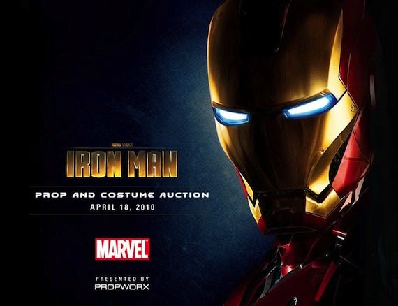 Iron Man Props and Costume Auction by Propworx Propworx Brings Iron Man Props & Costumes To You