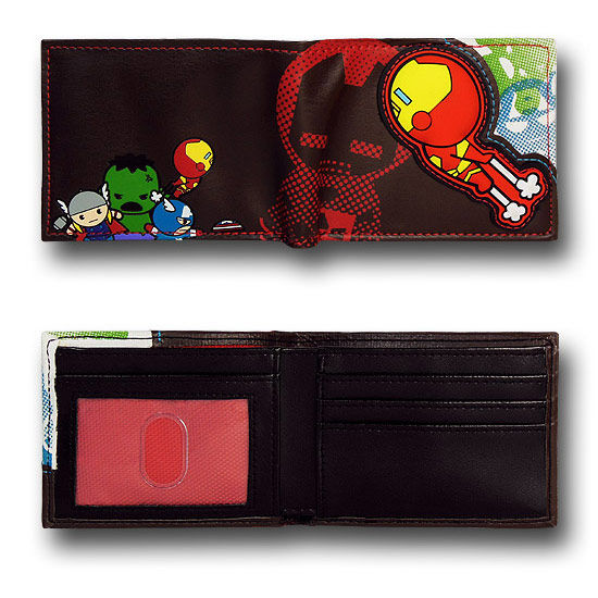 Iron Man and Friends Kawaii Bi Fold Wallet Inside Iron Man and Friends Kawaii Bi Fold Wallet Inside