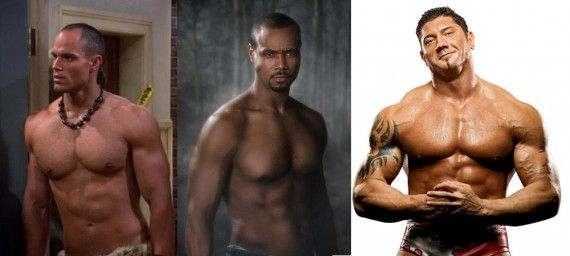 Isaiah Mustafa Brian Patrick Wade Dave Bautista 570x256 Jason Momoa is Drax The Destroyer in Guardians of the Galaxy [Updated]