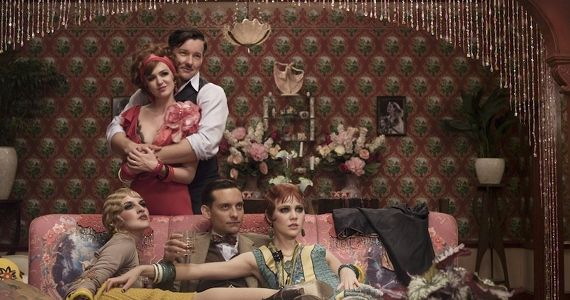 Isla Fisher Joel Edgerton and Tobey Maguire in The Great Gatsby 2013 The Great Gatsby Review