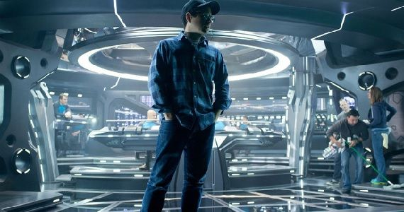 J.J. Abrams on the U.S.S. Enterprise J.J. Abrams Talks Almost Human; Says CBS Not Interested in Star Trek TV Show